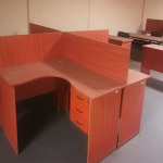 4 Way Workstation Office Desk-Locally Made