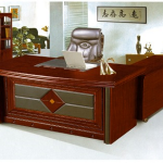 Executive 1.6m Desk Mahogany m-T240