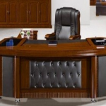 Executive Desk 2M ,Mahogany