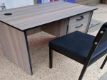 Home Office Desk 1.2M and a chair-On Offer