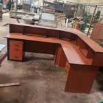Locally Made Reception Desk 1.6M
