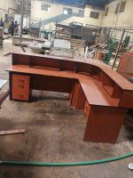 Locally Made Reception Desk 1.6M