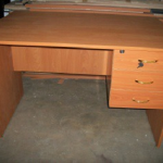 Office Table Size 4824 in Cherry