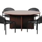 Round Meeting Conference Table